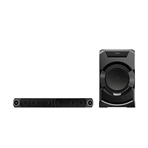 photo Wallpaper of Sony-Sony MHCGT5D.CEL Party Soundsystem (2400 Watt, Platzsparende Soundbar, LED Beleuchtung, Geeignet-Schwarz