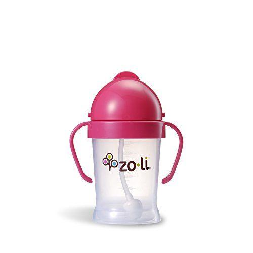 photo Wallpaper of ZO·LI-Zoli A Bot Botella BF10PPP001 Bebé Con Paja, Rosa-rosa