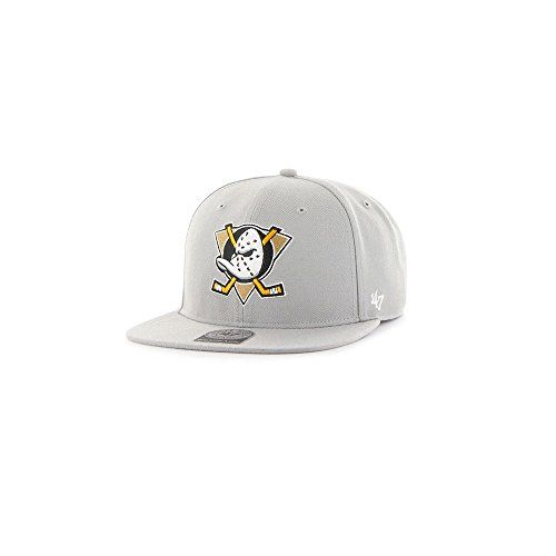 photo Wallpaper of 47 Brand-47 Brand NHL Anaheim Ducks Sure Shot Snapback-Grey