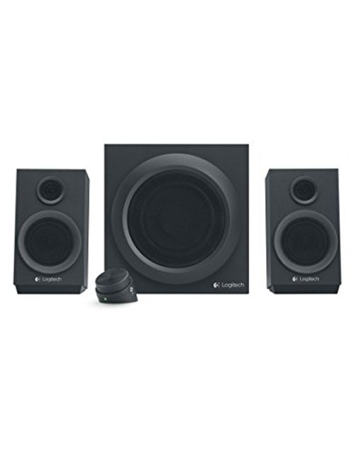 photo Wallpaper of Logitech-Logitech Z333 Multimedia Speakers   Lautsprecher Für Home Entertainment (mit 80 Watt-Schwarz