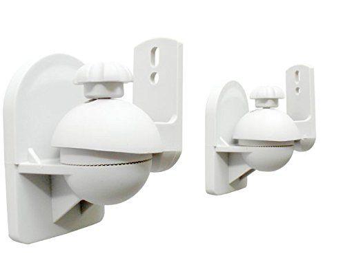 photo Wallpaper of DRALL INSTRUMENTS-2 Stück (1 Paar) Universal Lautsprecherhalterung Wandhalterung Boxen Lautsprecher (passt-