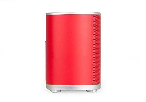 photo Wallpaper of Blaupunkt-BLAUPUNKT BT 600 RD BL Bluetooth Lautsprecher Mit NFC, AUX IN, 2x 8-Rot
