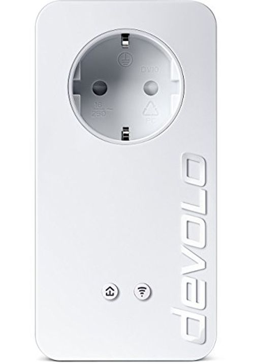 photo Wallpaper of Devolo-Devolo DLAN 550+ WiFi Powerline (500 Mbit/s Internet über Die Steckdose, 300 Mbit/s über-weiß