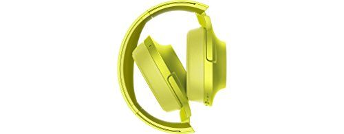 photo Wallpaper of Sony-Sony MDR 100ABN High Resolution Kopfhörer (Headset Funktion, Noise Cancelling, Kabellos,-limonengelb