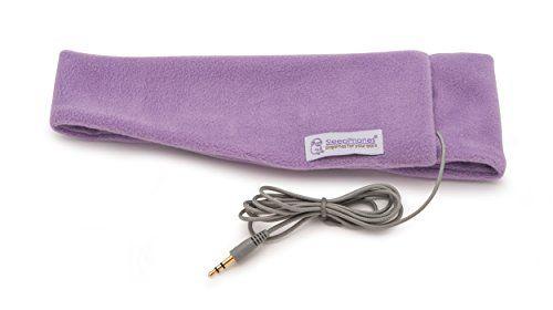 photo Wallpaper of SleepPhones-AcousticSheep SleepPhones V.6 Classic   Vlies Kopfband Kopfhörer   Lavendel, Klein/Extra-lavendel