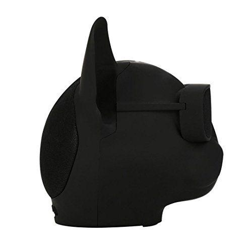 photo Wallpaper of SYY-SYY Mode Hund Bluetooth Lautsprecher Stereo Lautsprecher Mit HD Audio Und Verbesserte Bass Unterstützung-Schwarz