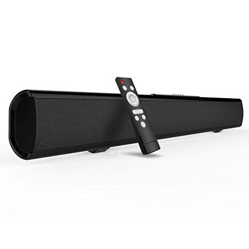 photo Wallpaper of meidong-Soundbar Bluetooth Lautsprecher Meidong 2.1 Kanal 2 Subwoofer Speakers, 40W-Black