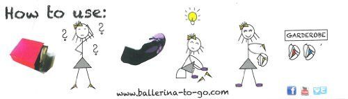 photo Wallpaper of Ballerina2Go-Ballerina2Go Faltbare Ballerinas Schuhe Satintasche   Rollbare Wechselschuhe Afterparty-Schwarz