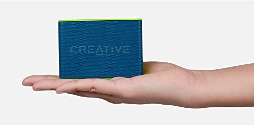 photo Wallpaper of Creative-Creative MUVO 2c   Leistungsstarker, Kompakter, Wetterfester Wireless Bluetooth Lautsprecher (für Apple IOS/Android-blau