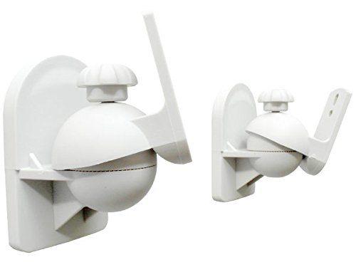 photo Wallpaper of DRALL INSTRUMENTS-2 Stück (1 Paar) Universal Lautsprecherhalterung Wandhalterung Boxen Lautsprecher (passt Für-