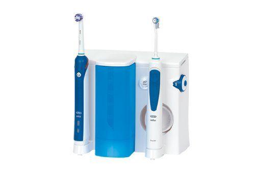 photo Wallpaper of Oral-B-Oral B Oxyjet + 2000   Pack Dental Con Cepillo De Dientes-Azul, Color Blanco