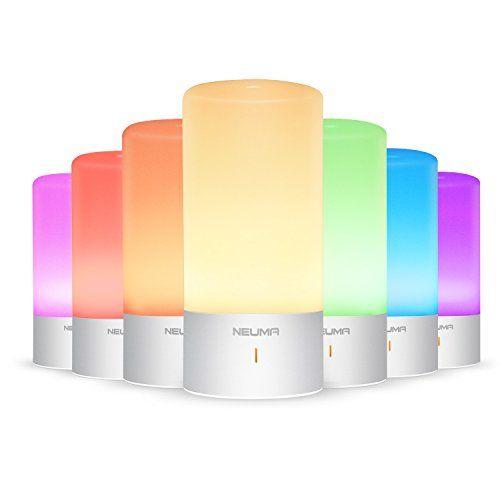 photo Wallpaper of NEUMA-NEUMA Smart Nachttischlampe, LED Schreibtischlampe, Dimmbar, Warmweiß, Kinderzimmer Nachtlicht, Touch Sensor Und 256-