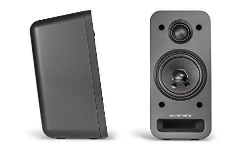 photo Wallpaper of Wavemaster-Wavemaster MX3+ BT 2.1 Lautsprecher System (50 Watt) Mit Bluetooth Streaming Aktiv Boxen-Schwarz