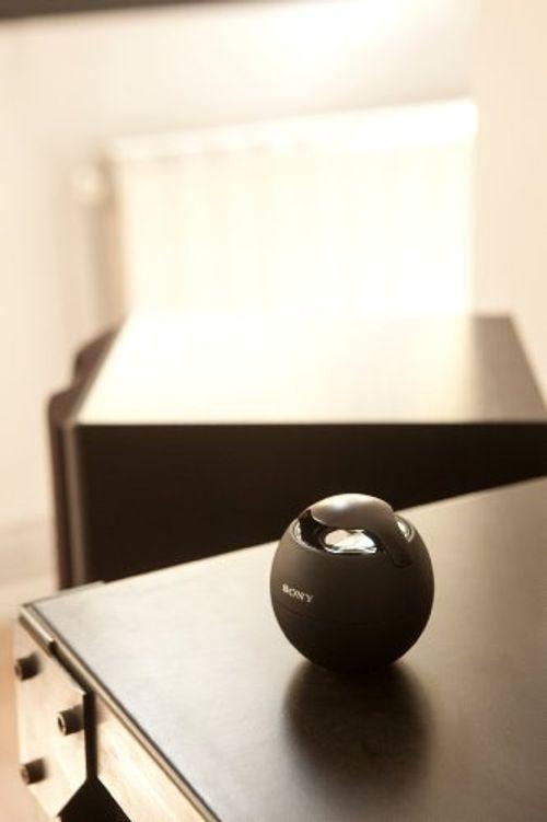 photo Wallpaper of Sony-Sony Smart Mini Musikbox SRS BTV5 Kabelloser Lautsprecher Mit NFC Und Integrierter Freisprechfunktion-schwarz
