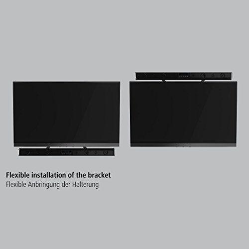 photo Wallpaper of Hama-Hama TV Soundbar Halterung (Universell Für Alle Fernseher, Bildschirmdiagonalen Und Soundbars (auch Sonos Playbar),-Schwarz