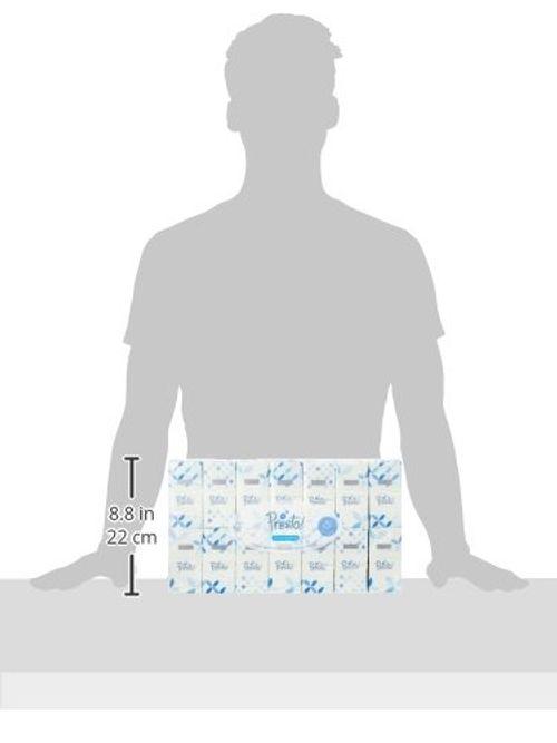 photo Wallpaper of Presto!-Amazon Marke: Presto! 4 Lagige Papiertaschentücher, 168er Pack (168 X 10-
