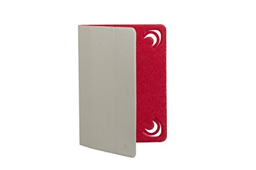 "photo Wallpaper of RivaCase®-RivaCase® Tablet Case Bis 10.1"" – Sehr Flache Hülle Mit-Weiß/Rot"