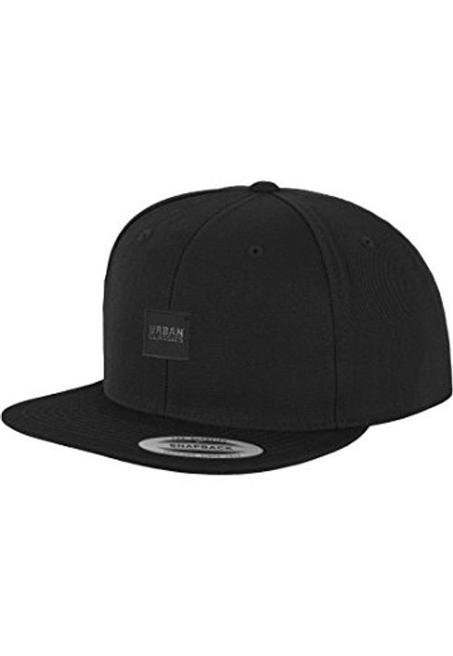 photo Wallpaper of Urban Classics-Leatherpatch Snapback Blk/blk One Size-schwarz