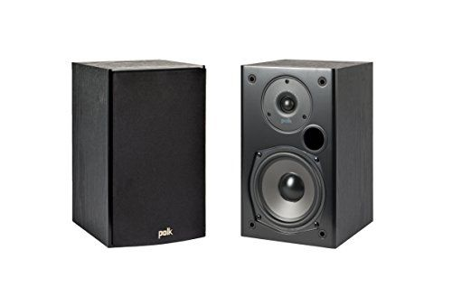 photo Wallpaper of Polk Audio-Polk Audio T15 Regal Lautsprecher (Paar) Schwarz-Black