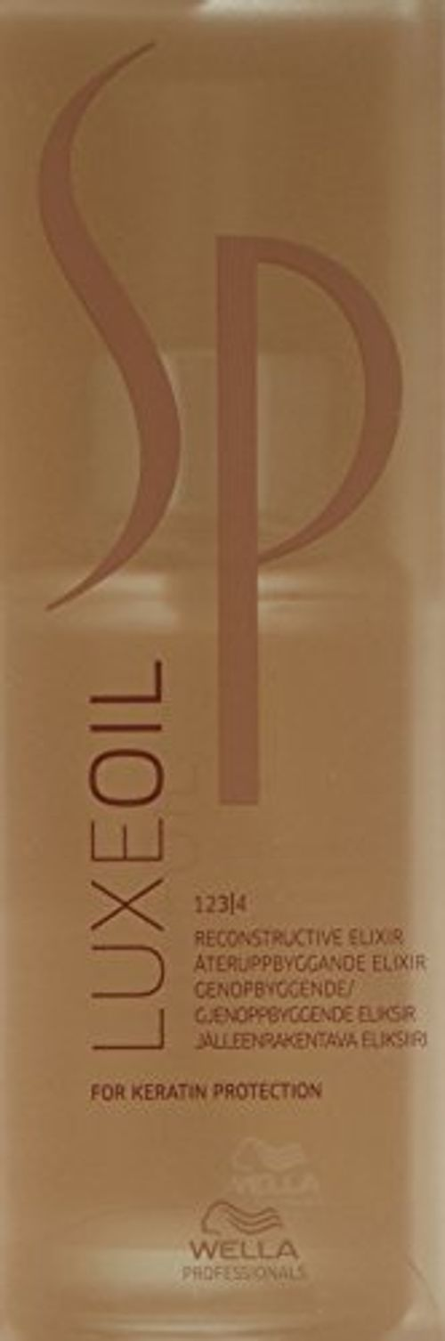 photo Wallpaper of Wella-LUXEOIL SP ELIXIR 100 ML.-