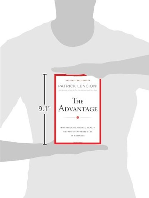 photo Wallpaper of Wiley John + Sons / Wiley, John, & Sons, Inc-The Advantage: Why Organizational Health Trumps Everything Else In Business (J B Lencioni Series)-