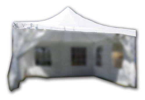 photo Wallpaper of Nexos-Ersatzdach Für Partyzelt Pavillon Zelt Festzelt 4 X 4M Weiß-Weiß