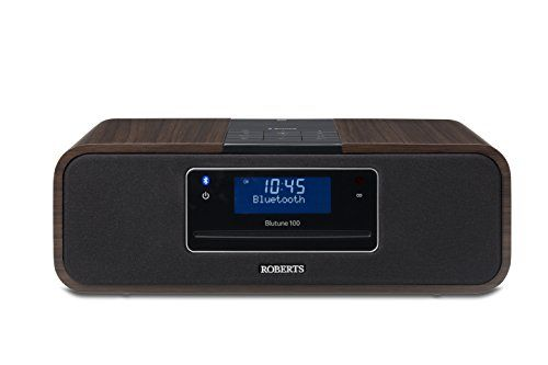 photo Wallpaper of Roberts Radio-Roberts Radio BluTune 100 DAB+ Soundsystem Mit Bluetooth/CD Player-holz/schwarz