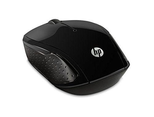 photo Wallpaper of HP-HP 200 (X6W31AA) Wireless Maus (Kabellos, 1000 Optische Sensoren, LED, 2,4-Schwarz