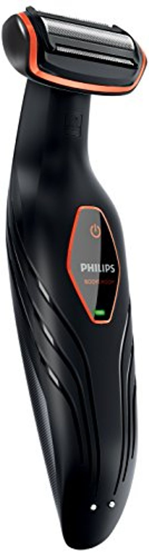 photo Wallpaper of Philips-Philips BG2024/15   Afeitadora Corporal Sin Cable, 1 Peine, 3 Mm, Color Negro-Negro Y Naranja