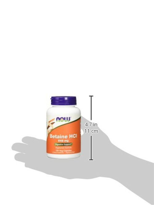 photo Wallpaper of Now Foods-Now Foods 648mg Betaine HCL Capsules   Pack Of 120-