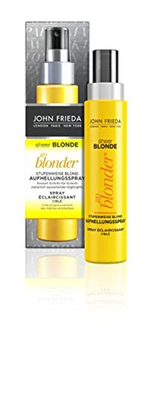 photo Wallpaper of John Frieda-John Frieda Sheer Blonde Go Blonde Gradual Rubio Blanqueador Spray, Paquete-