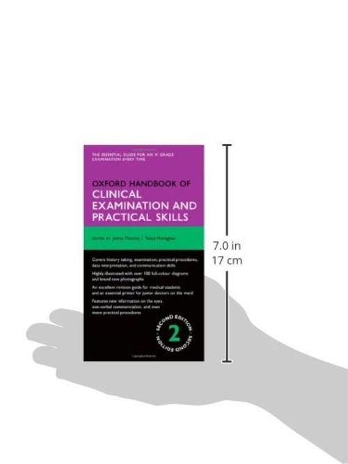 photo Wallpaper of Oxford University Press-Oxford Handbook Of Clinical Examination And Practical Skills (Oxford Handbooks)-