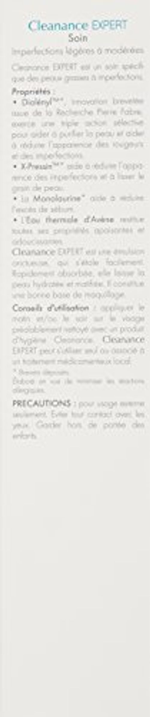 photo Wallpaper of Avene-AVENE Cleanance Expert 40ML-