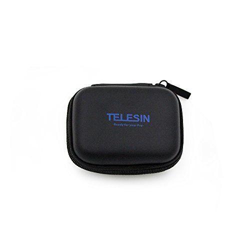 photo Wallpaper of TELESIN-TELESIN Tragbare Mini Tasche Tasche Tragetasche Action Kamera PU Aufbewahrungsbox Für Gopro Hero-