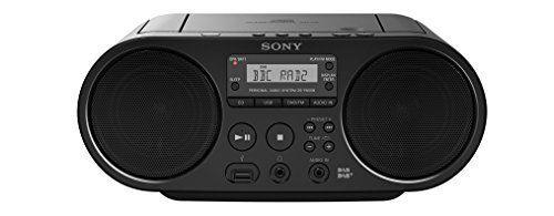 photo Wallpaper of Sony-Sony ZSPS55B.CED CD/USB DAB Radiorekorder-Schwarz
