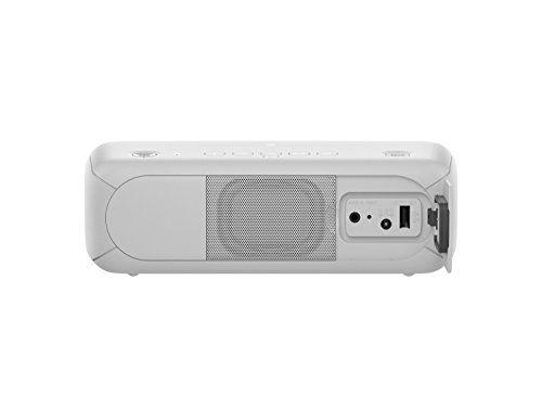 photo Wallpaper of Sony-Sony SRS XB30 Tragbarer, Kabelloser Lautsprecher (farbige Lichtleiste, Stroboskoplicht, Extra Bass, Bluetooth,-Weiß
