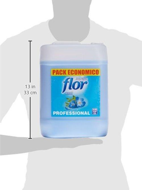 photo Wallpaper of Flor-Flor Suavizante Para Lavadora Regular Azul Formato Profesional  -