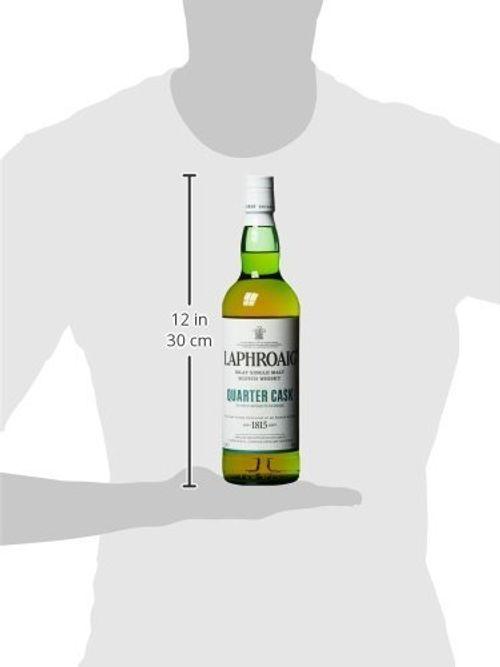 photo Wallpaper of Laphroaig-LaphroaigQuarterCaskIslay Single Malt Scotch Whisky (1 X 0.7 L)-