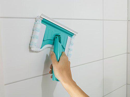 photo Wallpaper of Leifheit-Leifheit Flexipad   Mopa Para Azulejos Con Palo Telescópico, 83x12x2 Cm,-Verde, Color Blanco