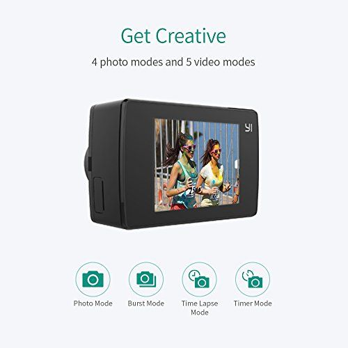 photo Wallpaper of YI Technology-Yi Lite Action Camera 1080p Black (Camera)-Kamera