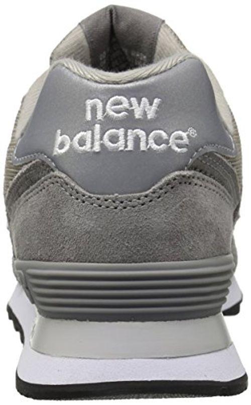 photo Wallpaper of New Balance-New Balance Herren 574 Core Low Top, Grau (M574NBU), 44 EU-Grau (M574nbu)