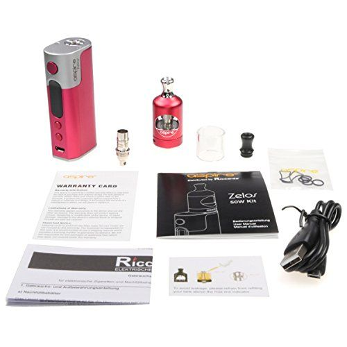 photo Wallpaper of Riccardo-Riccardo Zelos Kit 50 Watt / 2500 MAh Mit Nautilus 2-