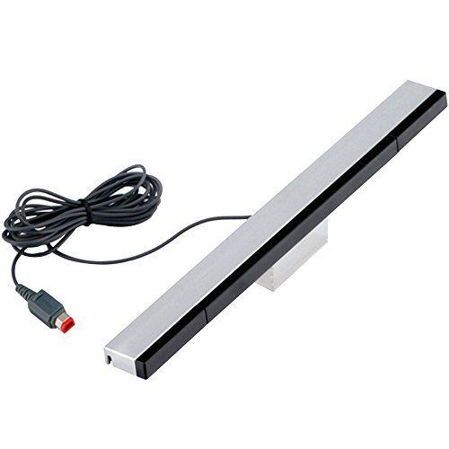 photo Wallpaper of AFUNTA-Wired Infrarot Sensor Bar Für Nintendo Wii Und Wii U Mit-