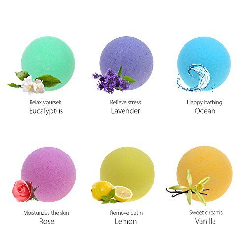 photo Wallpaper of Abody-Bombas De Baño Abody Sal De Baño Regalo Bath Bombs Relajante-