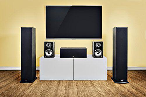 photo Wallpaper of Polk Audio-Polk Audio T30 Center Lautsprecher, Schwarz-Black