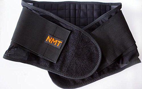 photo Wallpaper of NeoMedinaTech-NMT Back Brace ~ Concentrated Lumbar Support Belt ~ Core Pain, Arthritis ~-Black