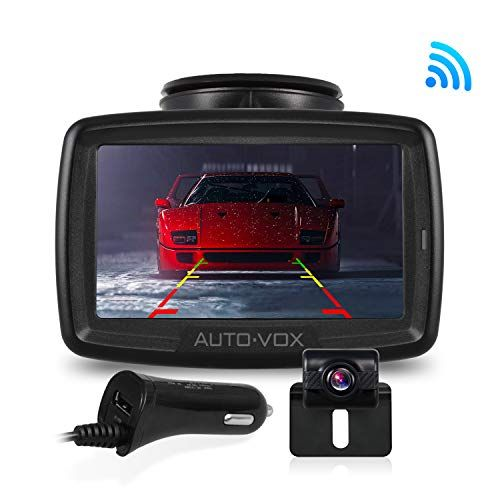 photo Wallpaper of AUTO-VOX-AUTO VOX W2 Kabellos Digital Rückfahrkamera Set Mit Eingebautem Funksender, Wireless Einparkhilfe,Wasserdicht-