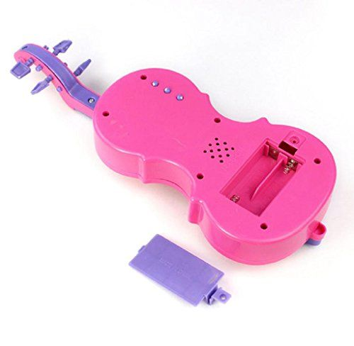 photo Wallpaper of Atdoshop-Atdoshop Pink Kinder Magische Musik Geige Kinder Musikinstrument Funny Gift Spielzeug-rose