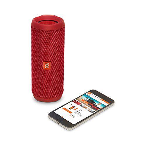 photo Wallpaper of JBL-JBL FLIP 4 (Ein Voll Ausgestatteter, Wasserdichter Und Mobiler Bluetooth Lautsprecher Mit-Rot