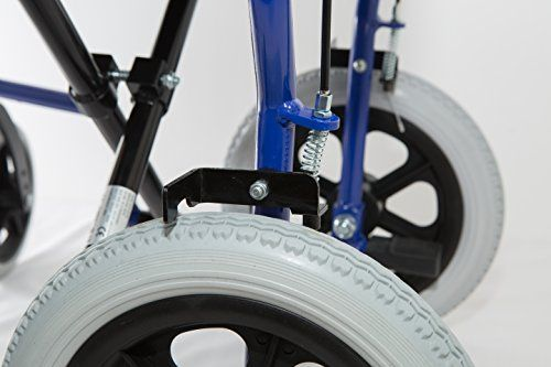 photo Wallpaper of RHealthcare-Dash Express Ultra Ligero, Fácil Plegable Silla De Ruedas – Pesa-azul